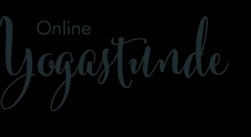 Online Yogastunde mit Karin